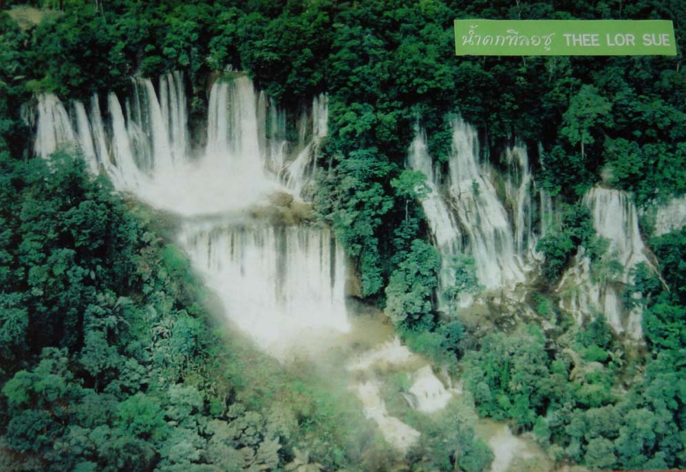 TeeLorSu Waterfall in Tak Province