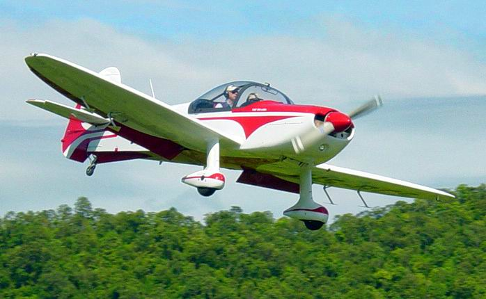 "Khun Charn's new ""Cap10"" aerobatic airplane"