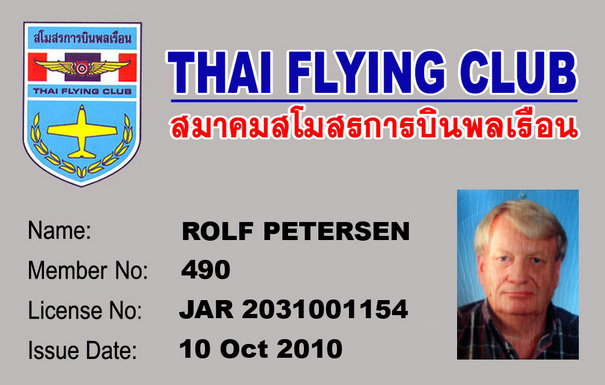 THAI FLYING CLUB General Aviation and Sport Flying in Thailand