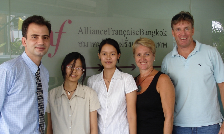 First Flight French Translation Team -- a l'Alliance Francaise