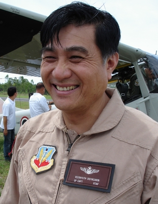 Group Captain Veerayuth Didyasarin - Director of Tango Squadron